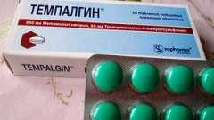 Від чого допомагають таблетки темпалгин, позбавляють вони від зубного болю?