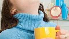 Полоскання горла при ангіні - чим ефективніше полоскати горло?